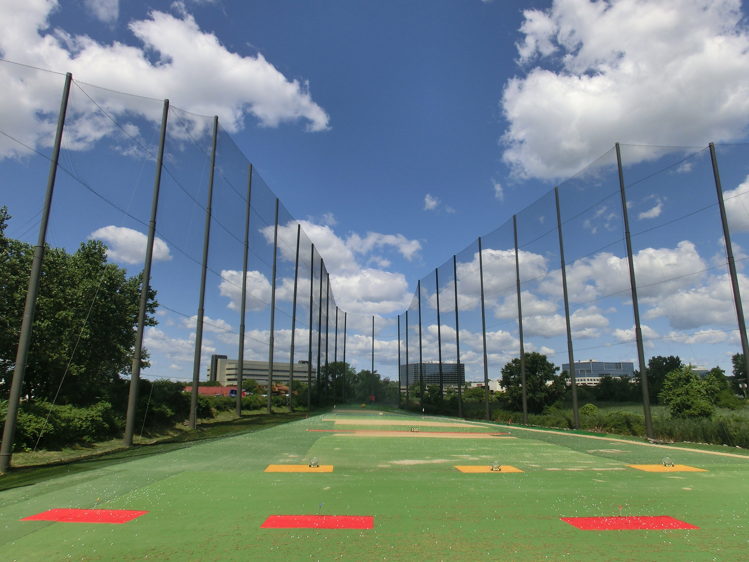 21Golf Completed Driving Range