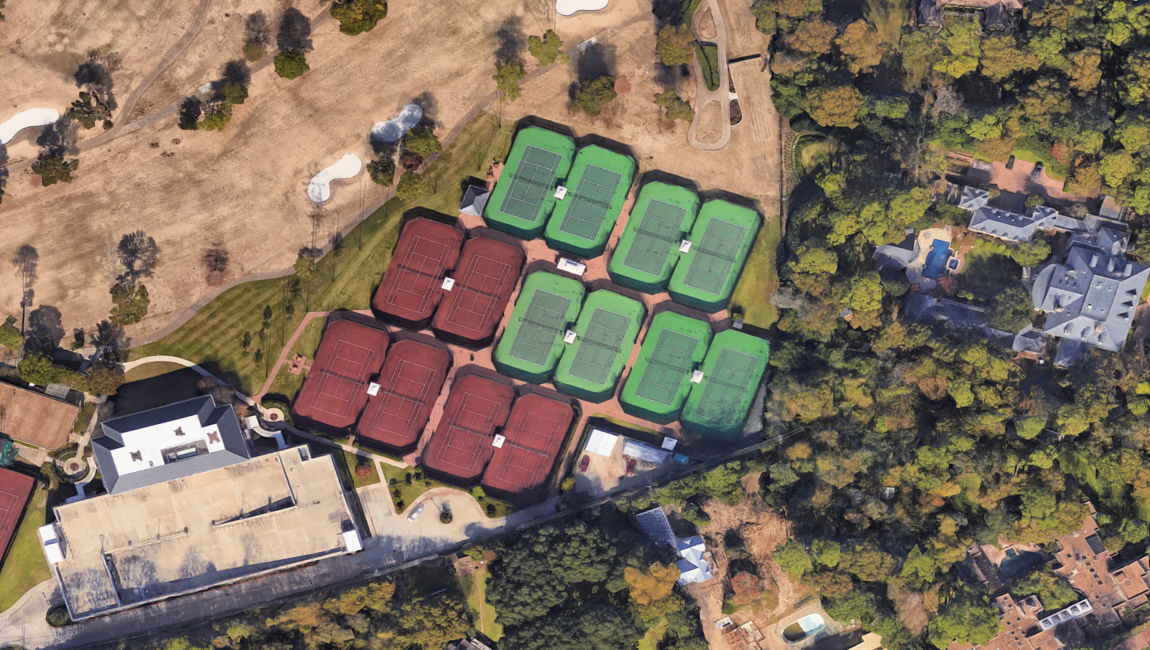River Oaks Country Club Tennis Courts