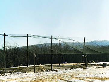 BATTING CAGE ENCLOSURES