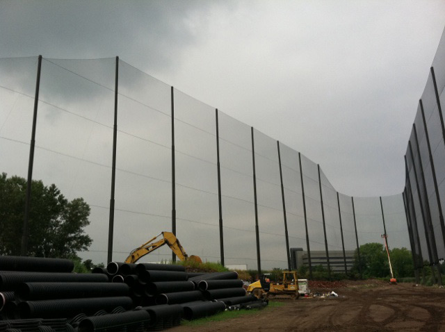 Driving Range Tiered Netting
