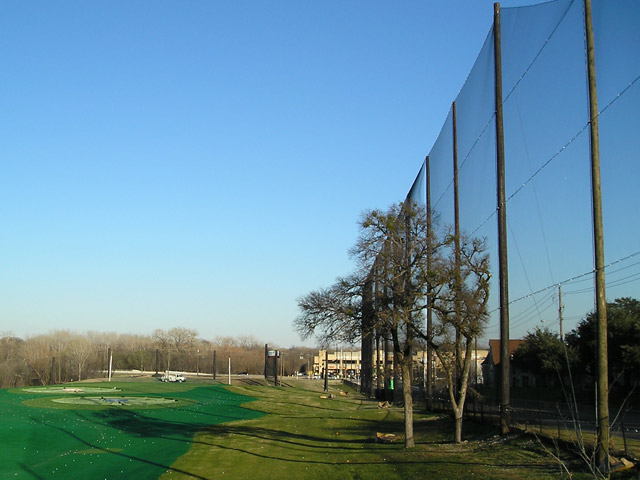 TopGolf Barrier Netting Installation