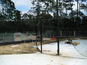 Tennis Court Build River Oaks Country Club
