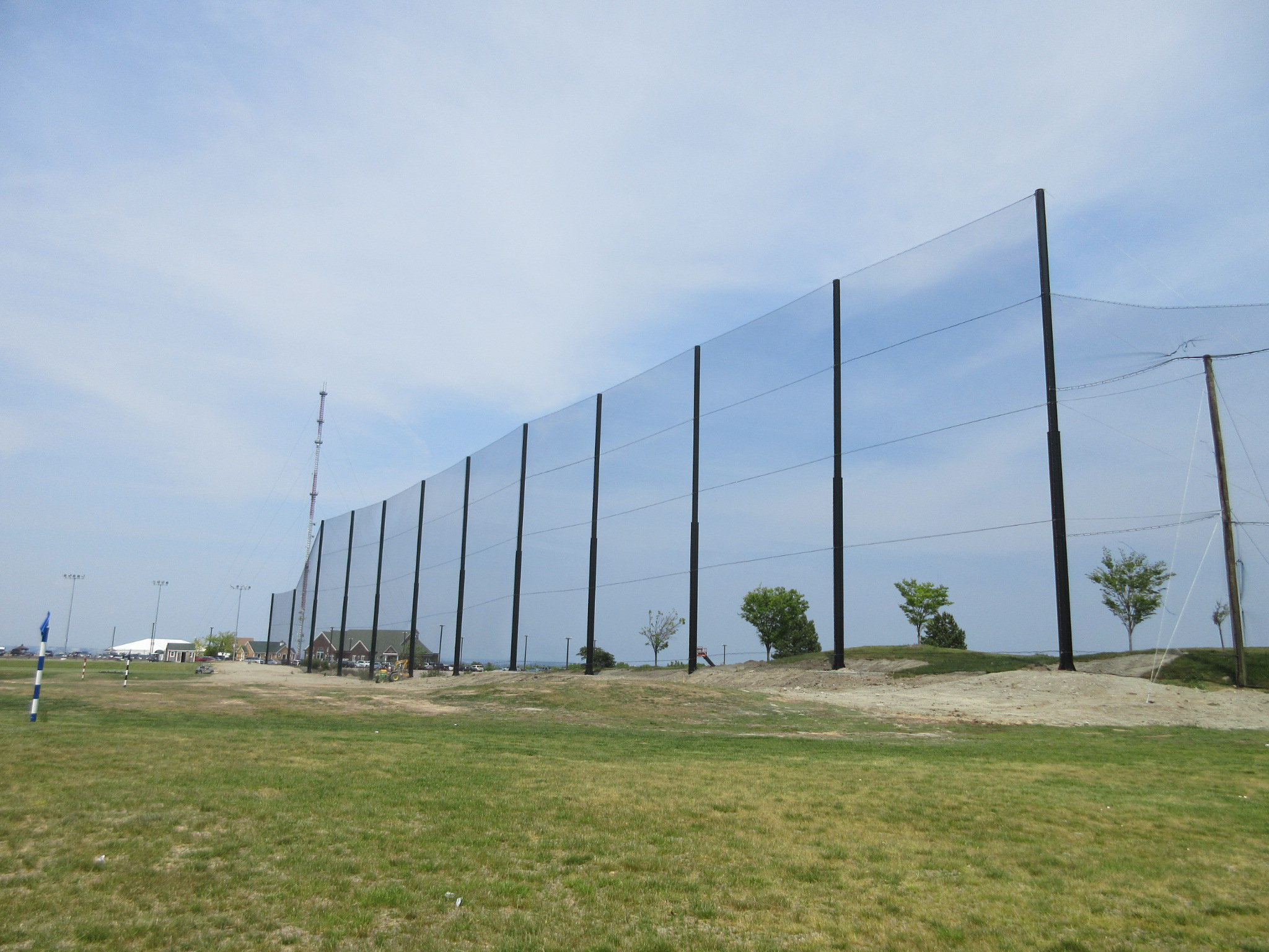 Driving Range Netting Installation Granite Links Golf Club