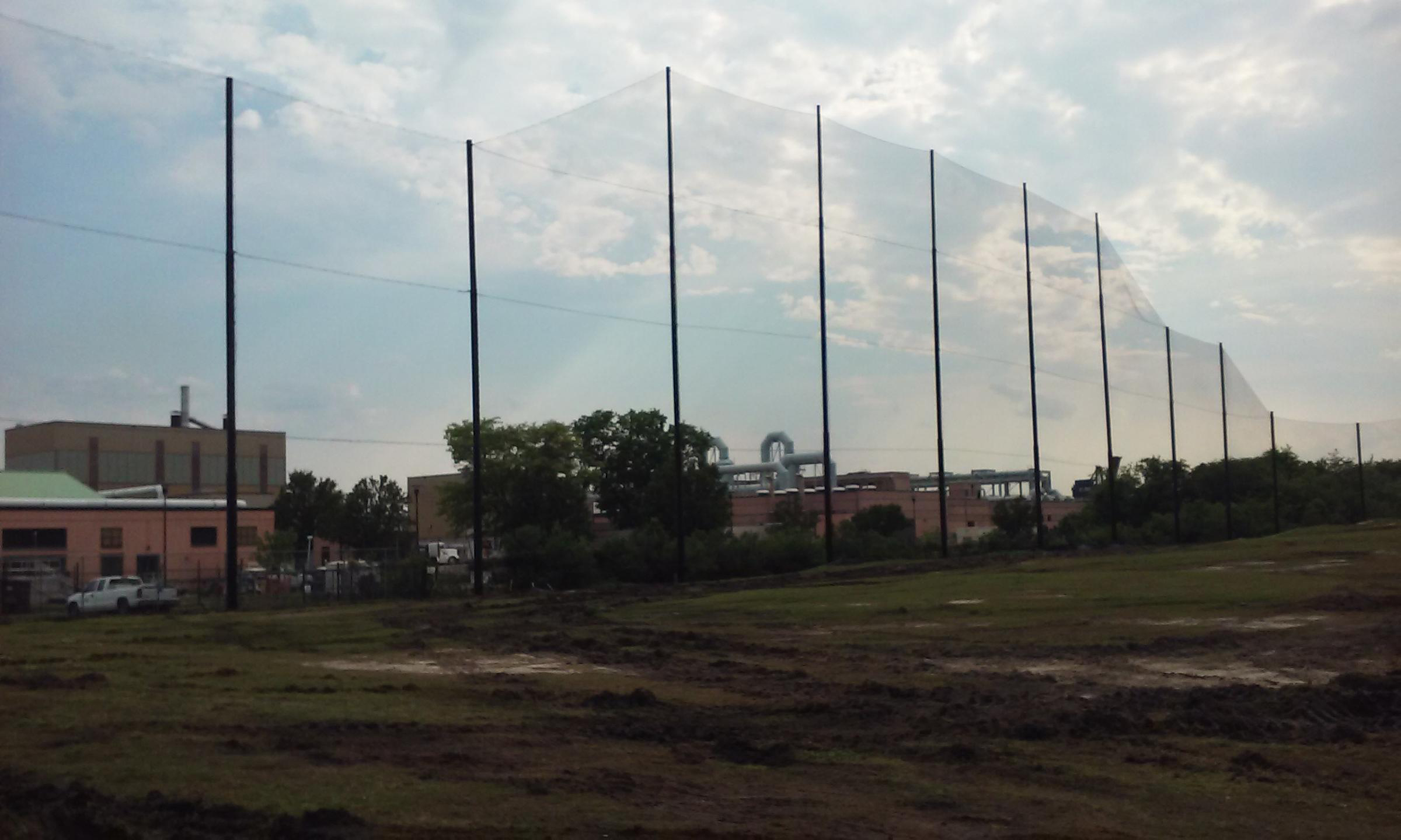 Lambert's Point Driving Range Installation Norfolk VA