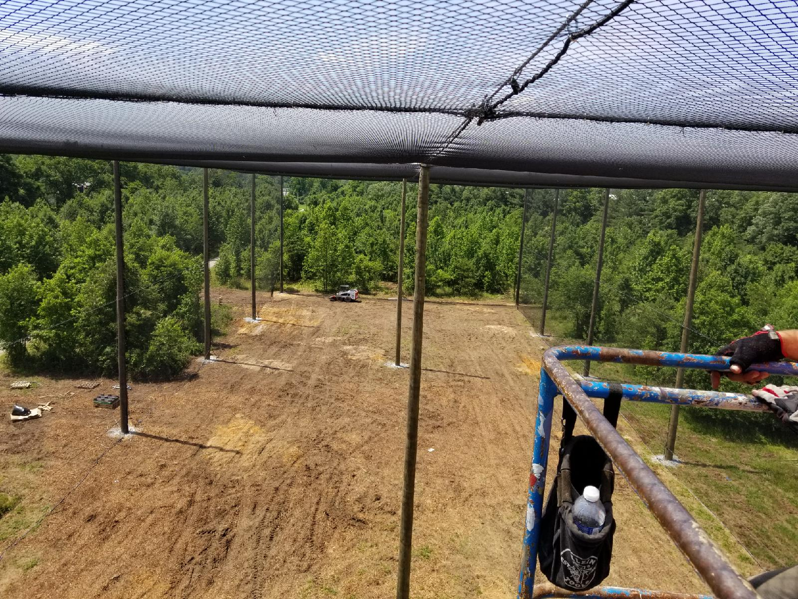 netted uas flight area drone enclosure university of maryland grn