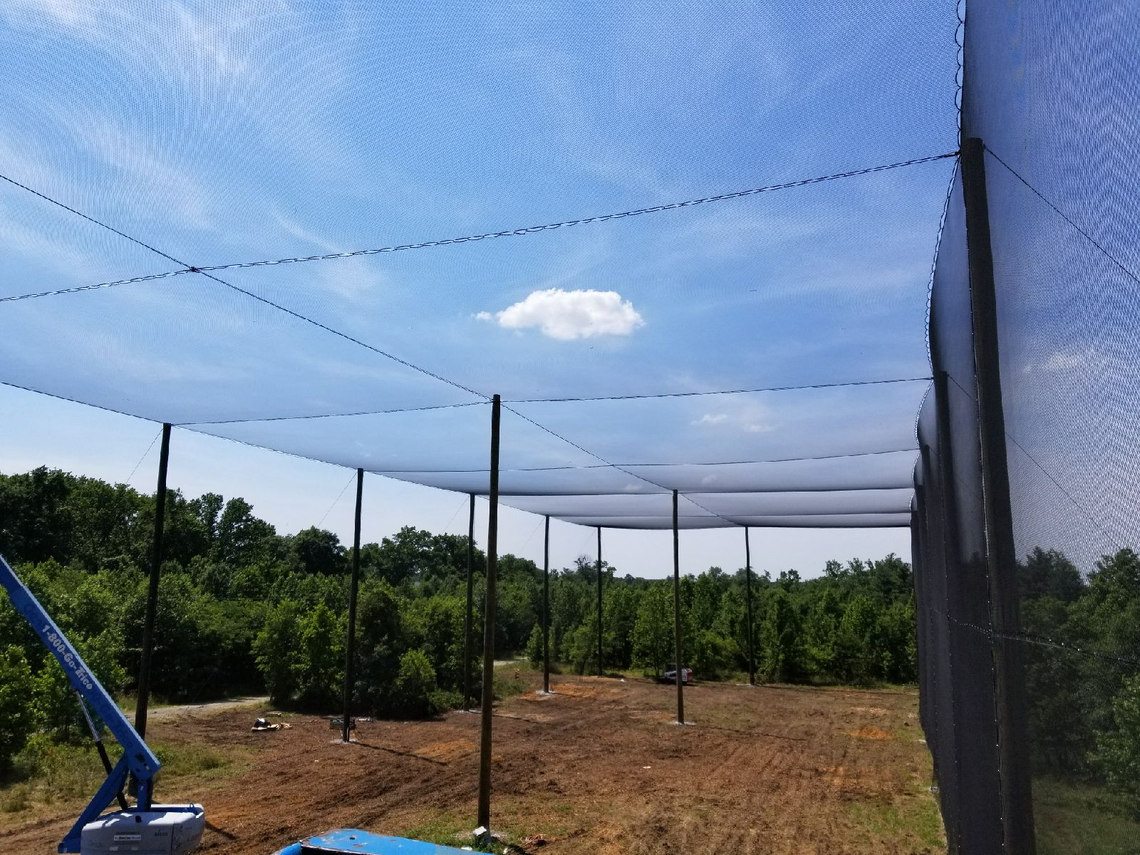 Netted UAS (Unmanned Aerial Systems) Flight Area/Drone Enclosure- University of Maryland